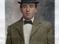 William Giberson, colorized