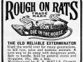 Rough on Rats advertisement