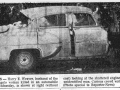 Car Bomb Murder, San Angelo, 1955