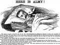 Etching of Murderer Frank Almy.