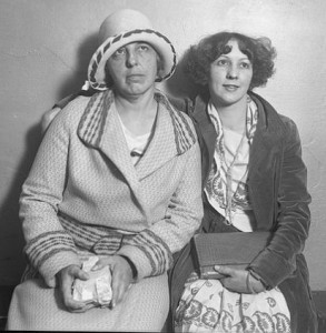 The Great Eleven Club cult leaders, May Otis Blackburn and her daughter, Ruth Wieland Rizzio.