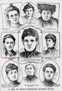 Just a few of Hoch's wives...and victims.