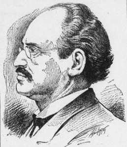 German-American Blue Beard Johann Hoch, suspected of murdering 50 wives.