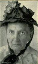 Bertha, 68 year-old shoplifter, circa 1897, Chicago