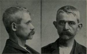 John Wolker, Chicago, 1897, accidentally shot his favorite daughter while aiming toward his wife.