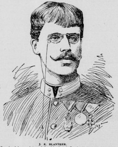 Lt. Joseph Blanther, former Austrian army officer and knight.