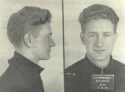 Alctraz Prisoner John Elgin Johnson, 1919-1953.