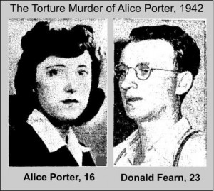Donald Fearn and Victim Alice Porter, 1942
