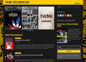 CrimeDocumentaryFrontPage