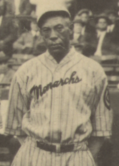 "Hawkins during the 1924 ""Colored World Series."""