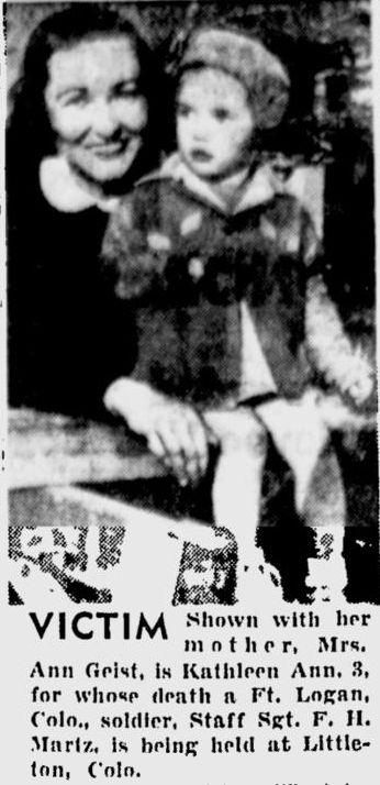 victim Kathleen Ann Geist 1943