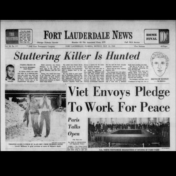 Fort Lauderdale News, May 13, 1968