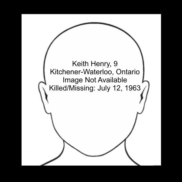 Keith Henry, murder victim, 1963