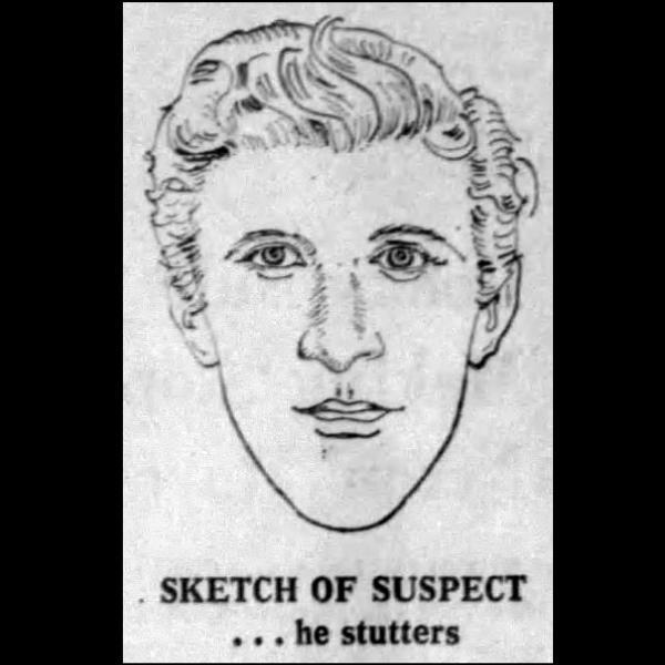 Police artist sketch of Stanley Everett Rice