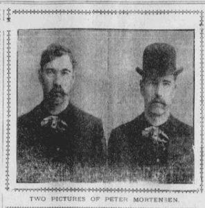 utah killer peter mortensen, salt lake city, 1902, victim Jimmy Hay