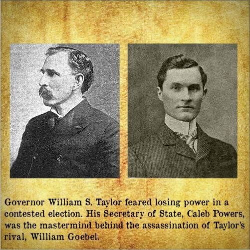 Gov. William Taylor and Sec of State Caleb Powers