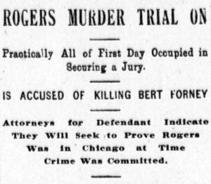 Headline from the Omaha Daily Bee, February 16, 1904