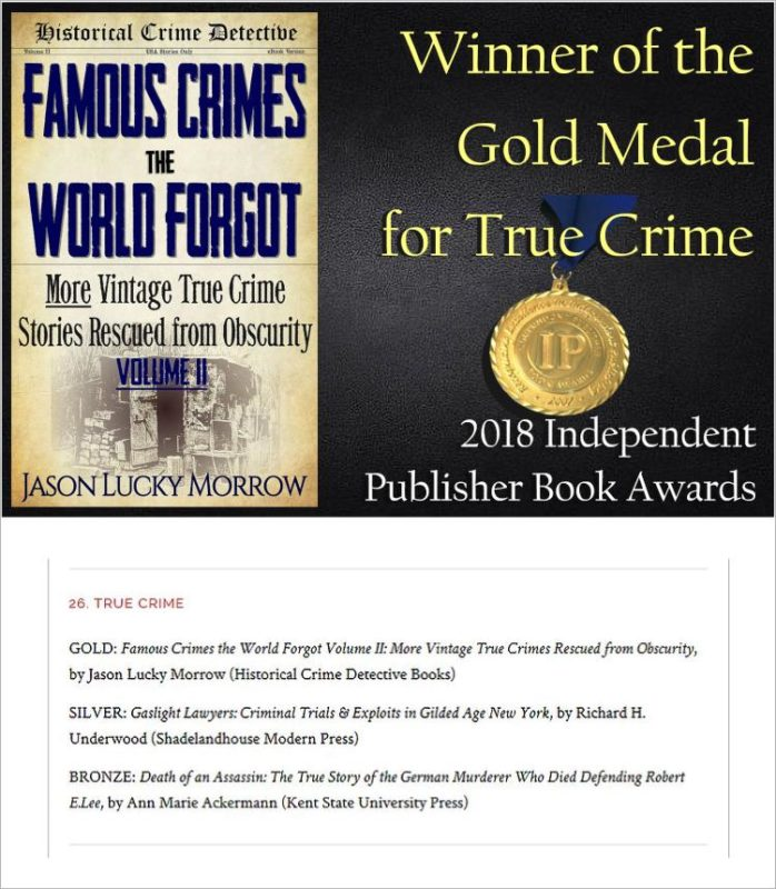 Famous Crimes the World Forgot Volume II Photo Gallery